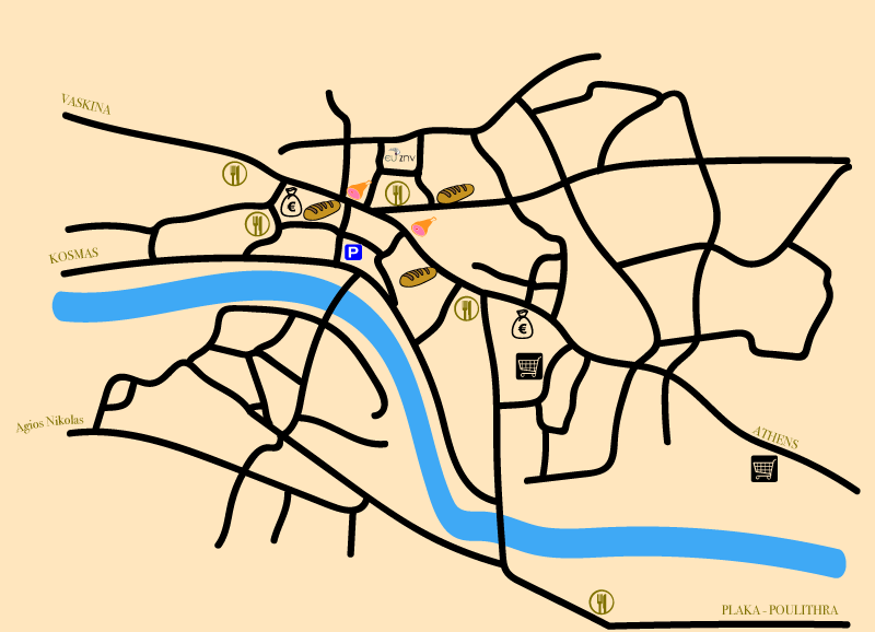 Map of Leonidio